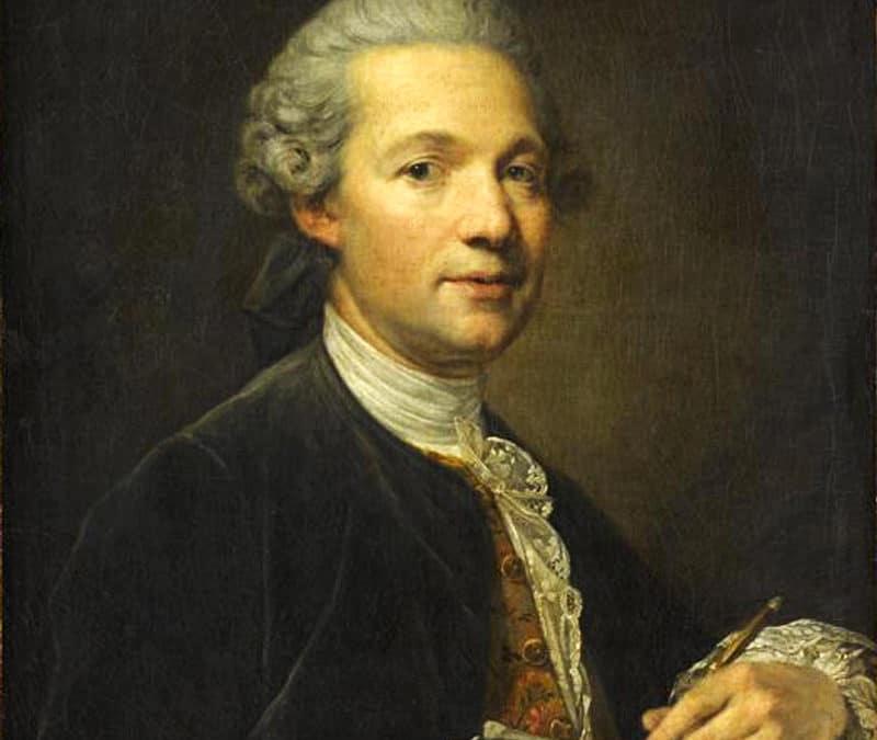 Interview imaginaire d'Ange-Jacques Gabriel, 1770