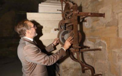 Visite du maire de Saint-Germain-en-Laye, M. Arnaud Pericard