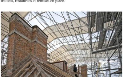 Nouvel article du Parisien : L'impressionnant chantier du Pavillon royal de la Muette