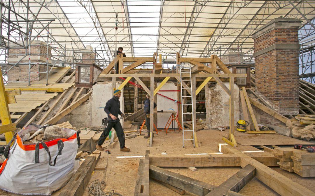 Le Parisien, février 2021 : L'impressionnant chantier du Pavillon royal de la Muette