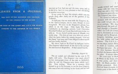 Extrait du Journal de la Reine Victoria